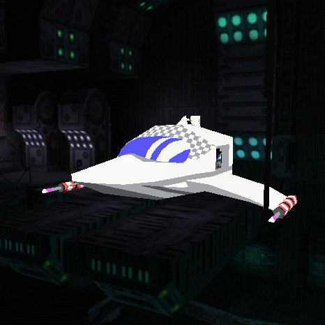 Bean-with-Bacon MegaRocket as Warship Bay Fighter