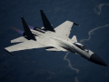 Su-37 Solid White + Base Texture + Decals Sheet