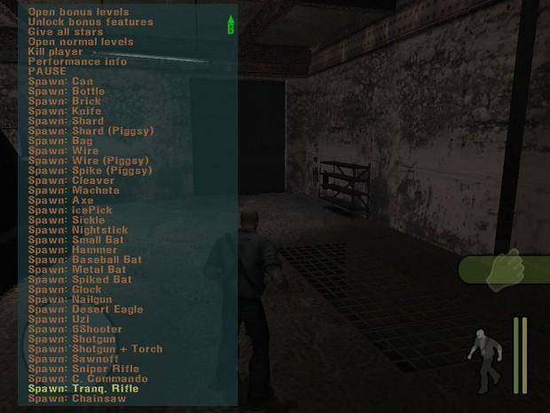 Manhunt Weapon Spawner