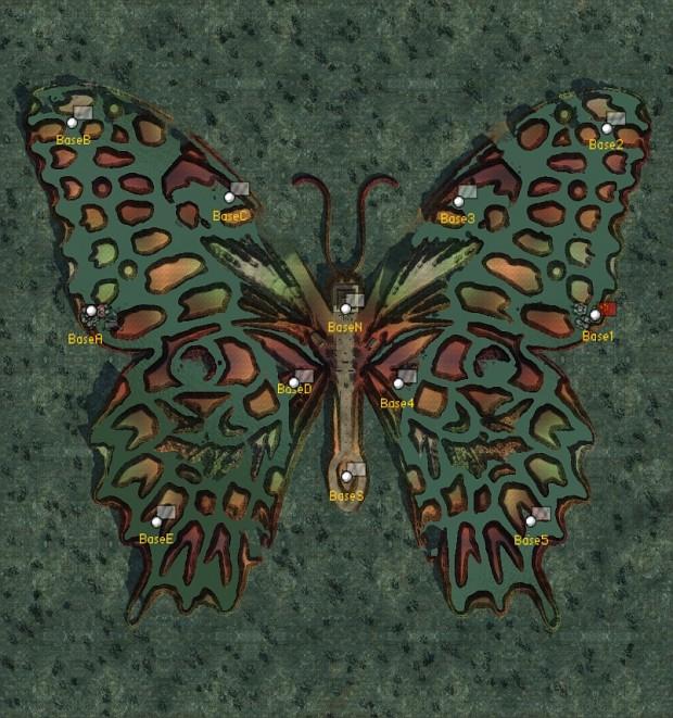 Map: Butterfly