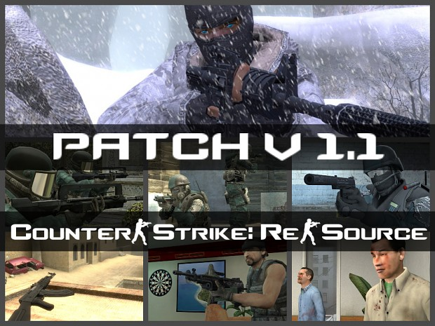 Counter-Strike: Re-Source v1.1 Patch
