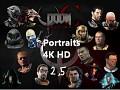 QCDE 4K HD Portraits 2.5