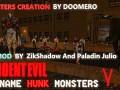 Code Name Hunk Monsters Invasion V,2