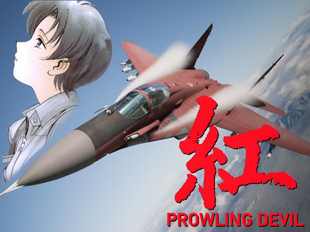 MiG-29A - Red Prowling Devil & Mrkos