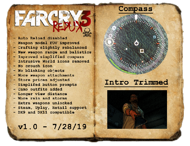 """Far Cry 3 Redux  """"Privateer"""" Edition"""