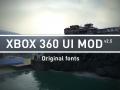 Xbox 360 UI Mod v2.5 Original Fonts