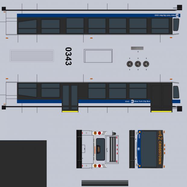 Realistic Nova Bus Skin (M42) V 0.1