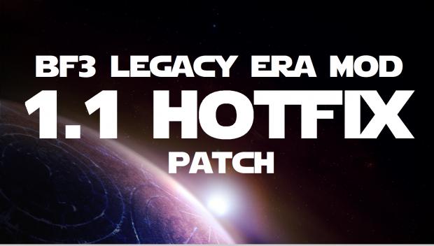 BF3 Legacy Era Mod 1.1 [HOTFIX]