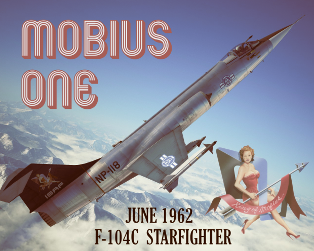 F-104C Mobius One '62