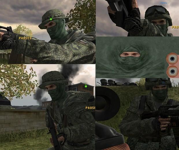 Spetsnaz, Mask for ZCF