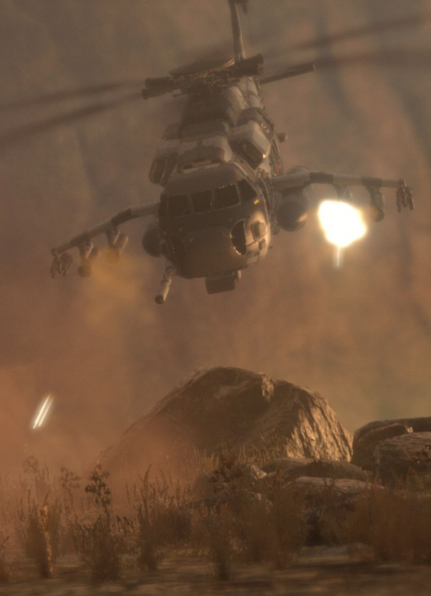 Rise Of The Tomb Raider Helicopter