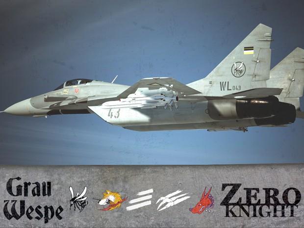 MiG-29A - GrauWespe & Zero Knight