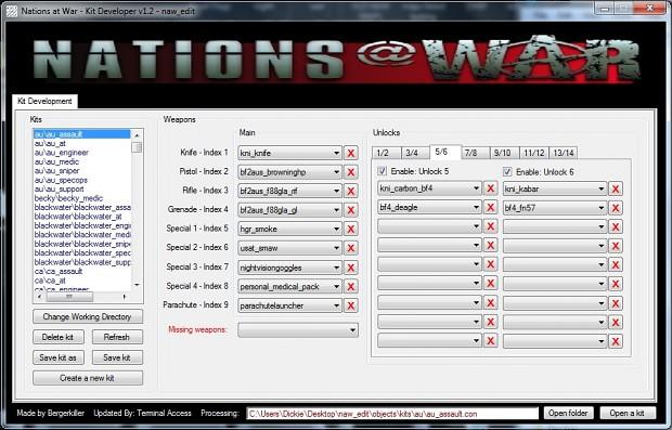 NAW Kit Developer v1.2.3 - Public Releace.