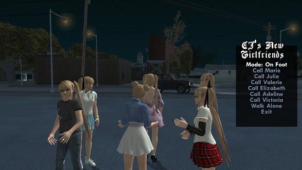 CJs New Girlfriends version 5.0 (mobile)