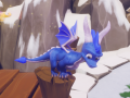 Blue + Silver Spyro