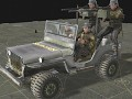 Multigunner Jeep