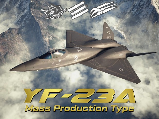 YF-23A Mass Production Type