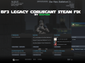 Star Wars Battlefront III Legacy PRE-DEMO(S) - Coruscant Steam/GoG Fix [PATCH]