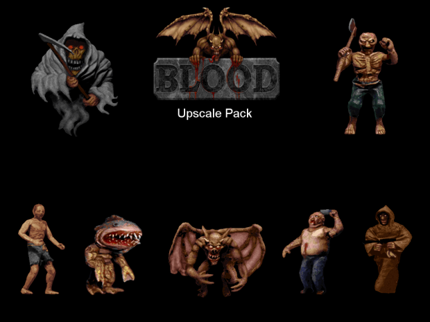 Blood Upscale Pack 2.06B