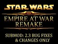 2.3 Bug Fixes & Changes Only