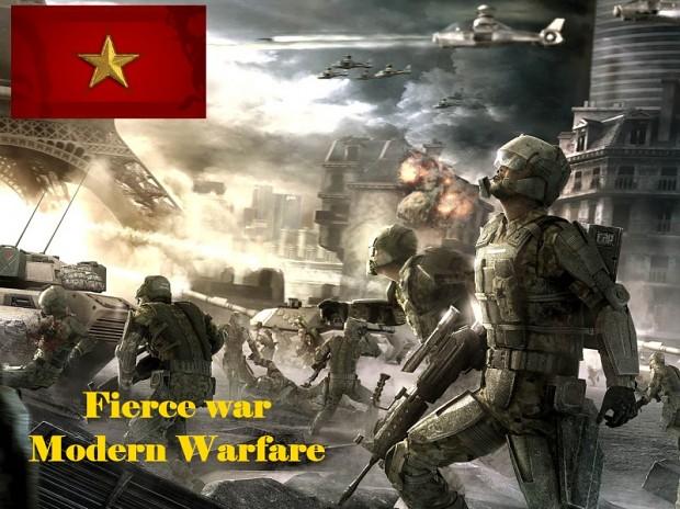 Fierce war: Modern Warfare ver18