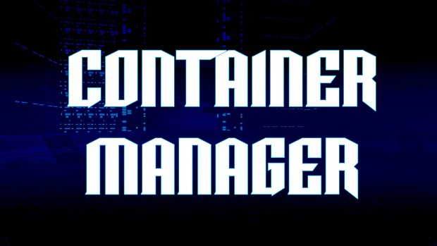 ConMan - Container Manager (by Alex)