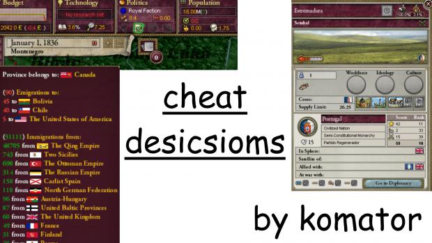 Cheat Descisions v1