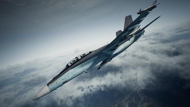 F/A-18F -Russian Grey-