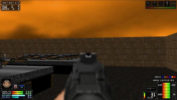 Brutal Doom v21 ADS Crosshair Patch