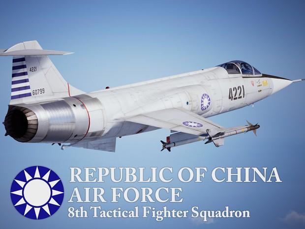 F-104 - ROCAF 8th TFS (1968)