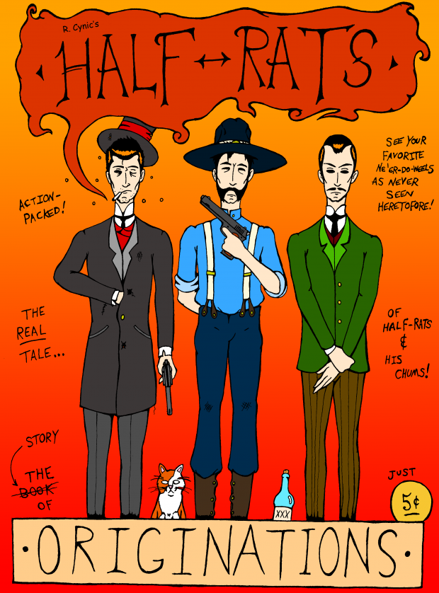 Half-Rats: Originations Issue #1