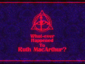 What-ever Happened to Ruth MacArthur?