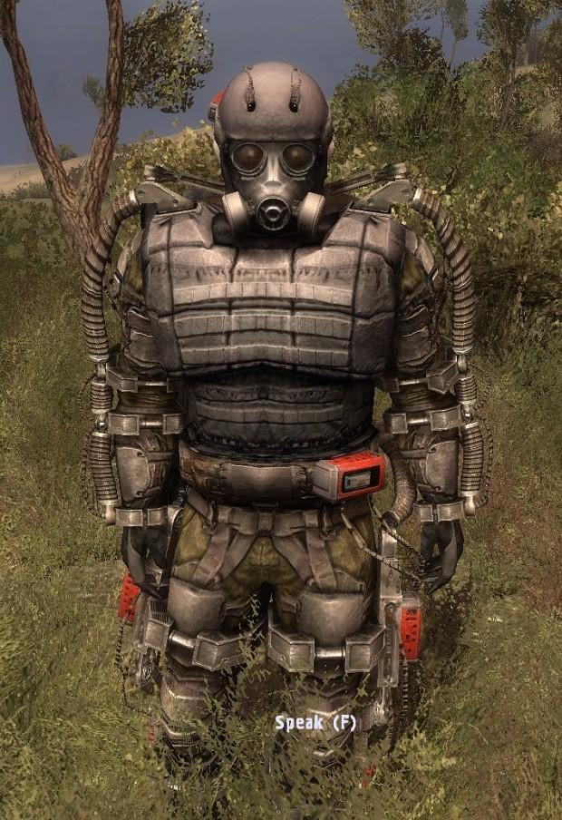 OWR3  Invisible Exo suit Arm fix