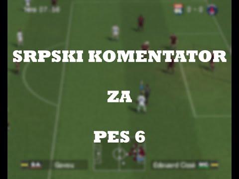 Srpski komentator PES6 ackomd