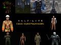 Classic Half-Life NPCs (Player Models Pack)