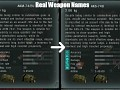 Real Weapon Names for Call of Pripyat