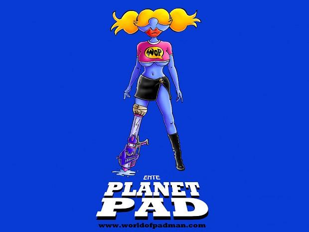 Planet PAD Wallpaper by ENTE