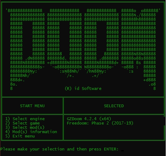 Batch Doom Mods Launcher