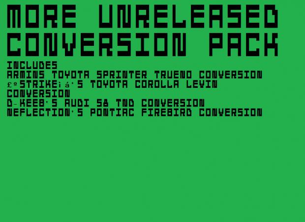 (MVL) More Unreleased Conversion Pack v2