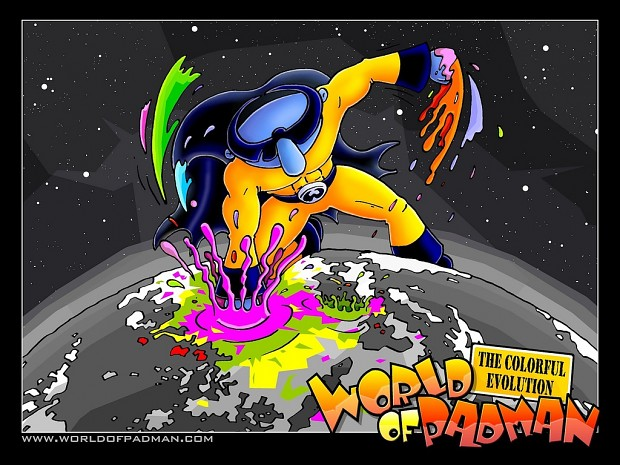 WoP The Colorful Evolution Poster Wallpaper by ENTE