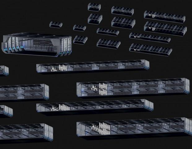 Modeller resource: Hangars: