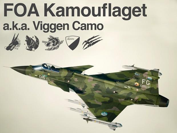 Gripen E - FOA Kamouflaget ( a.k.a. Viggen Camo )