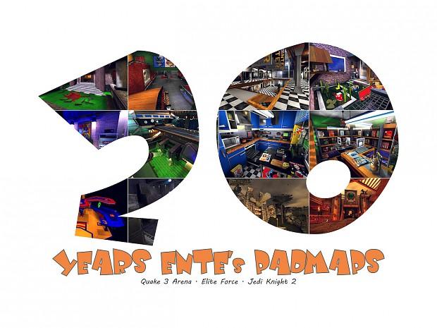 20 Years of ENTE's PadMaps - [PAD]Community Calendar 2020 (EN)