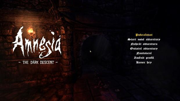 Amnesia Painful Memories Czech Translation