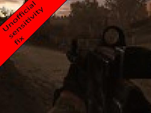 STCoP Weapon Pack 2.8.0.7 (v.5 / V.5.1) Weapon Sensitivity Fix
