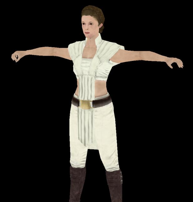 Leia (Jedi) for modders