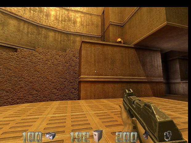 Machinegun without Muzzleflash