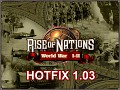 RoN WWI-II Hotfix 1.03