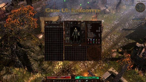 Grim UI: Forgotten
