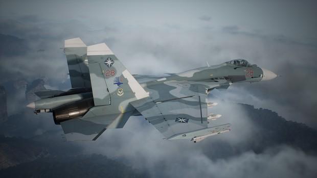Su-33 -Classic Camo-